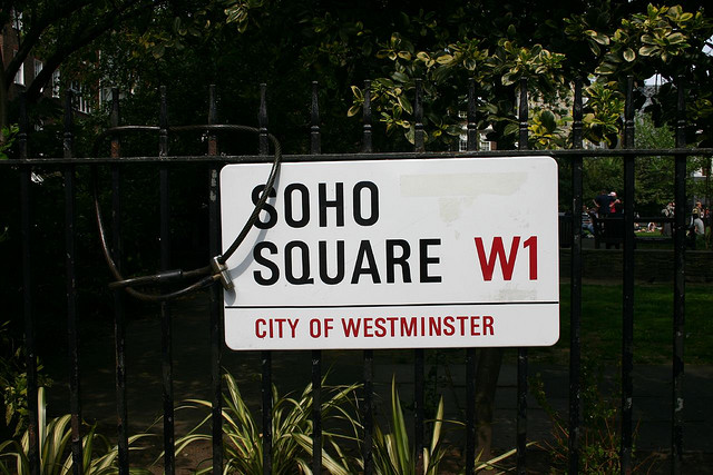 The girl from Soho Square