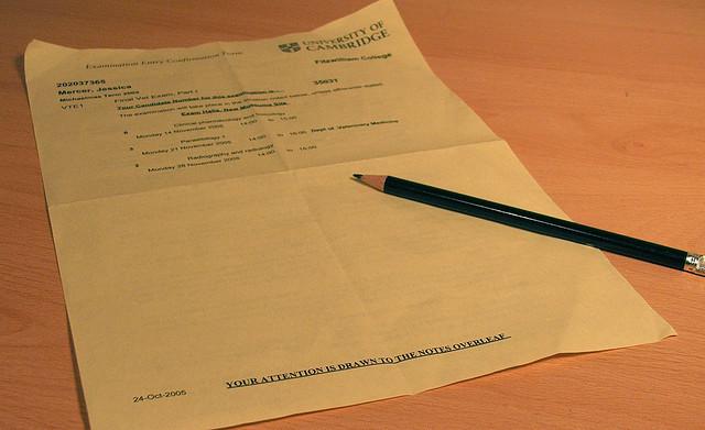 The Stolen Exam Paper